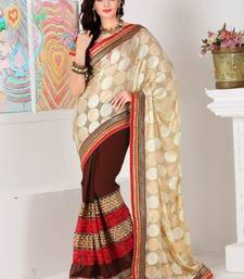 Buy Saraswati trendy party wear saree art-silk-saree online