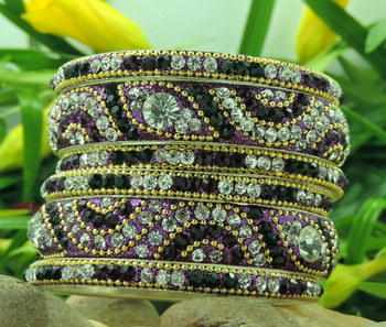 Indian bridal Lakh Bangles in 2 Colour