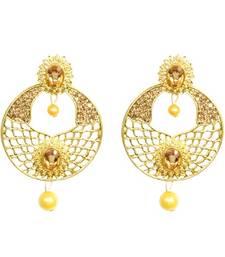 Buy Gold Diamond jewellery gemstone-earrings gemstone-earring online