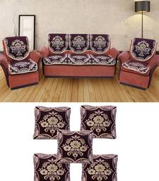 Buy MULTICOLOR COTTON RICH COMBO OF 5 SEATER SOFA COVER & CUSHION COVERS other-home-furnishing online