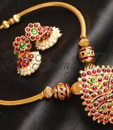 Beautiful Handmade Kemp Temple Necklace Set