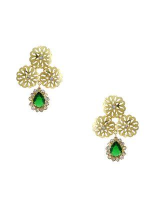 Green american_diamonds danglers-drops
