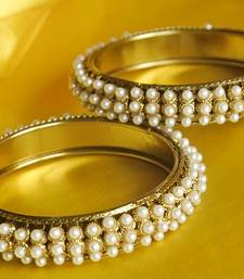 Buy Traditional Gold Plated Bangle set bangles-and-bracelet online