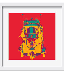 Buy Funky Taxi Art Print wall-art online