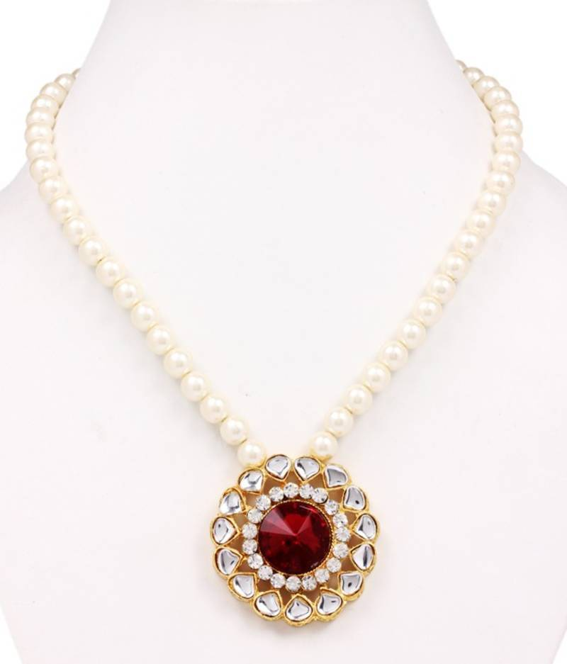 Buy Diva Style Me Handmade Pearl Necklace Online