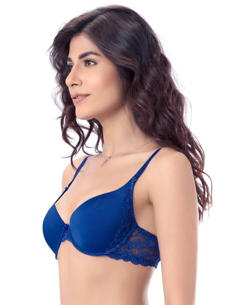 Blue bras Sexy Lace Push Up Bra - PrettySecrets - 2067592 3ed7164a3