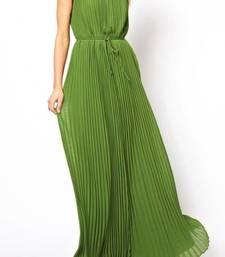 Buy Long Classy Dress in Pure Chiffon  dress online
