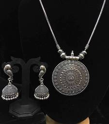 Buy Silver  zircon   necklace-sets necklace-set online