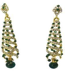b20816aa1a0 Return to shop. Progress  4cc28d84d76fcb9210fe43f7ac15eb975cd0845b972ae4a79b1d0ad72de0bd8e. Gold  Plated Indo-Western Style Earrings
