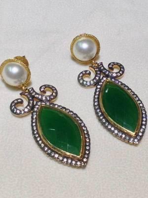 emerald pearl cz