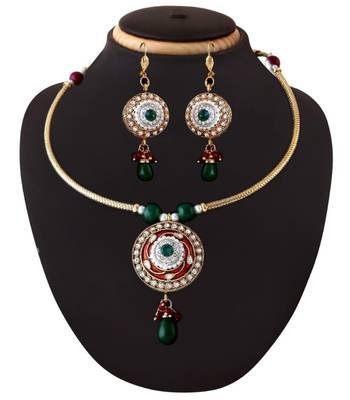 Delicate Ethnic Necklace Set