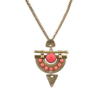 Go Tribal Pendant Necklace