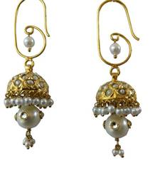 Buy traditional golden jhumki jhumka online