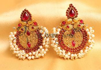 BEAUTIFUL KEMP BALI EARRINGS - DJ16577
