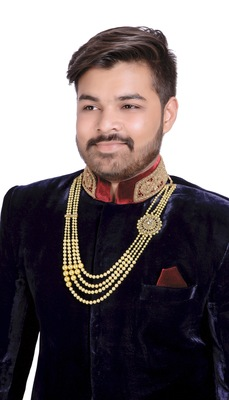 Traditional 4 Line  Dulha Mala Made With Stone And Pearl For Men