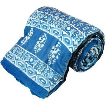 Bandhani Print Cotton Single Bed Razai Quilt