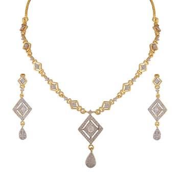 Heena Trendy collection Necklace set >> HJNL147 <<