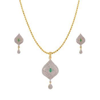 Heena Western Enamel Collection Pendent Set >> HJPN159G <<