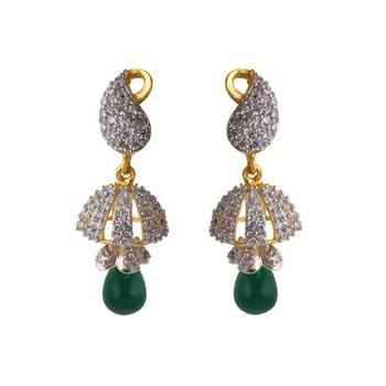 Heena Festive Pearl Collection Jhumki Earings @ HJER15G