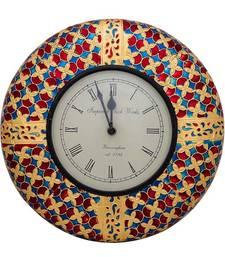 Buy Clock (12 inches ) with meenakari work housewarming-gift online