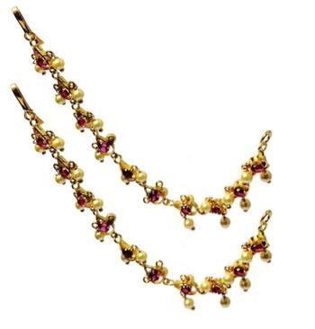 Vel Kan chain Ear to hair accessories