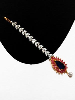 classic ruby sapphire tikka