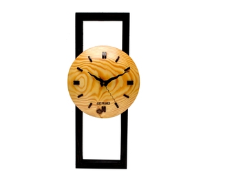 Traditional Wooden Wall Clock for Home