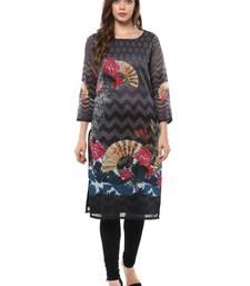 Multi stitched Poly Chanderi stitched kurti