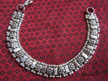 Oxidized German Silver Bracelet