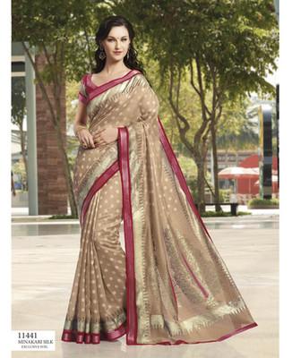 Styloce Multi Color Bhagalpuri Silk Saree-STY-106-11441