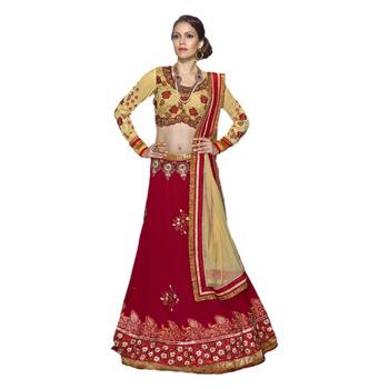 Khwaab Red Georgette Sheesha1008