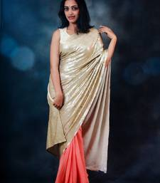 Buy Love Chains crepe-saree online