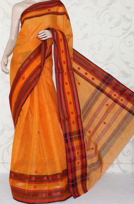 Designer Bengal Handloom Tant Cotton Saree (Without Blouse)
