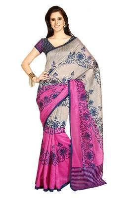 bhagalpuri style E7504A saree
