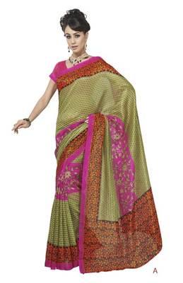 bhagalpuri style E7506A saree