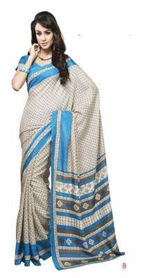 bhagalpuri style E7505B saree