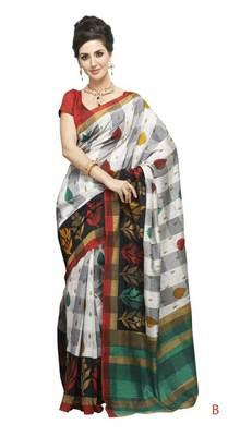 bhagalpuri style E7513B saree