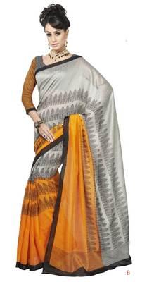 bhagalpuri style E7515B saree