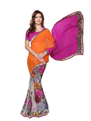 Two Shade Fancy 14 Saree