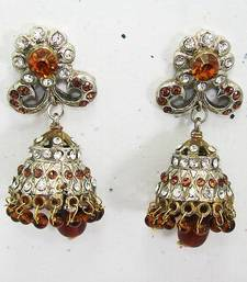 Buy Victorian Small Jhumki Copper Brown jhumka online