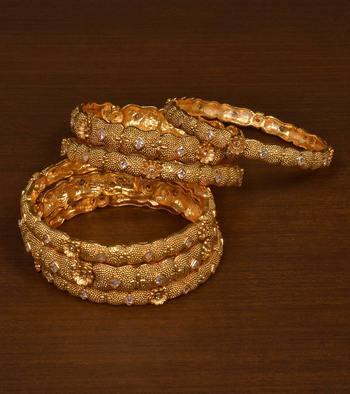 Gold plated gheru copper made   bangles-and-bracelets