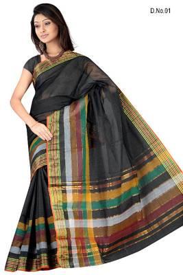 South Cotton Saree- Tara Coller Patta