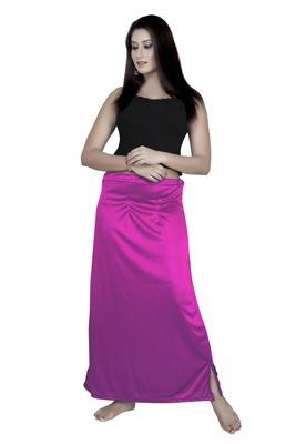Multicolor micro satin lycra petticoat