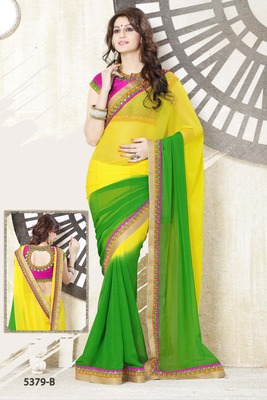 SHADED ELEGANT SAREE