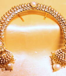 Buy pearl jhumki hairpin hair-accessory online