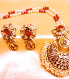 Buy pearl cluster pendent set Pendant online