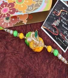 Buy Stunning Zardosi Rakhi zardosi-rakhi online