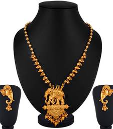 Buy gold plated necklace sets necklace-set online