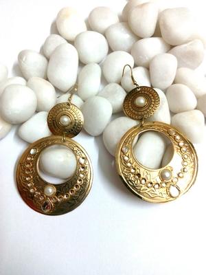 fancy golden earring