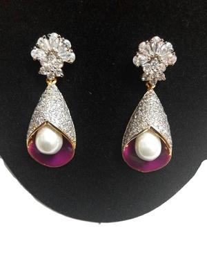 elegant pearl earring